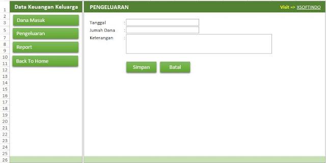Download Gratis Aplikasi Pengelolaan Keuangan Keluarga Format Excel