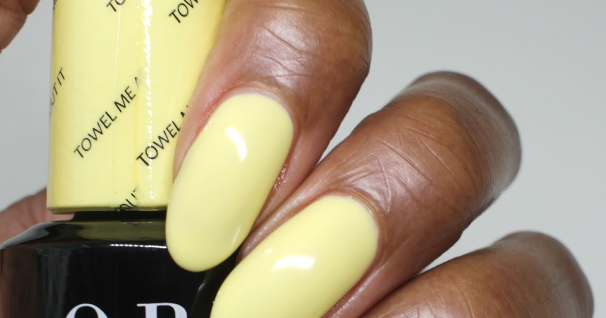 Yellow Nail Polish For Dark Skinned | Hession Hairdressing