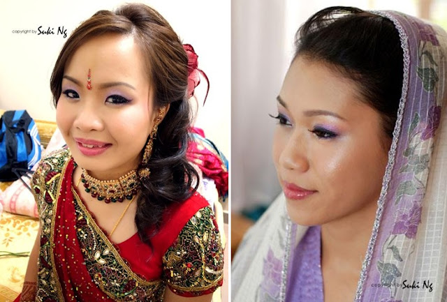 indian chinese makeup