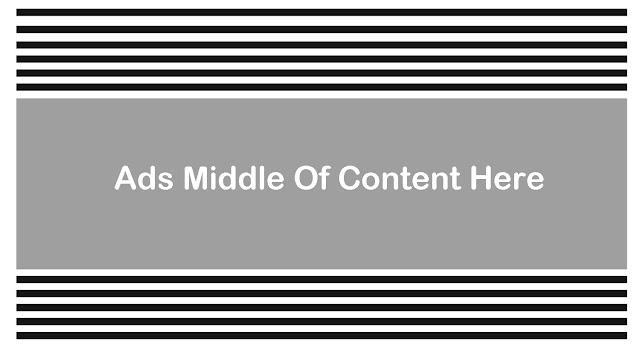 Memasang Iklan Adsense Ditengah Artikel