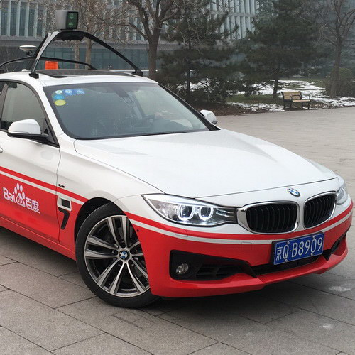 Tinuku Baidu launched the Apollo project to develop autonomous cars