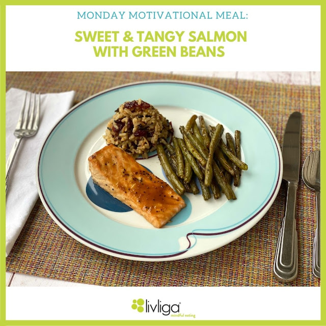 Sweet & Tangy Salmon Served Up on Livliga