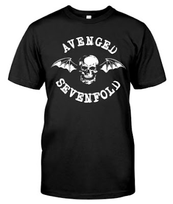 avenged sevenfold merch T Shirts Hoodie Sweatshirt Official UK US Amazon Canada Austraila. GET IT HERE