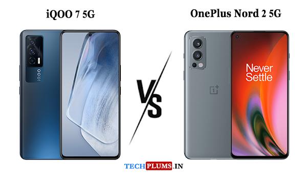 iQOO 7 5G Vs OnePlus Nord 2 5G