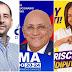 Cavoli, El Puma y Priscila son los eventuales electos diputados por María Trinidad Sánchez.