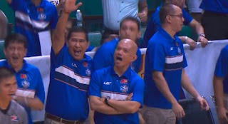 Watch Kiefer Ravena's Game Winning Basket and The Priceless Reaction of Coach Yeng Guiao