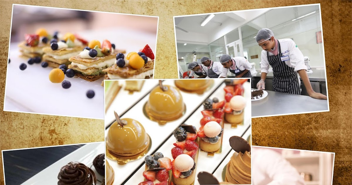 Master yourself in baking pastries with the pastry chef courses from our institute