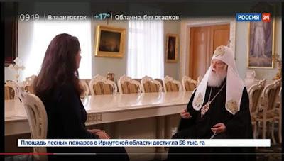 Філарет на російському телеканалі