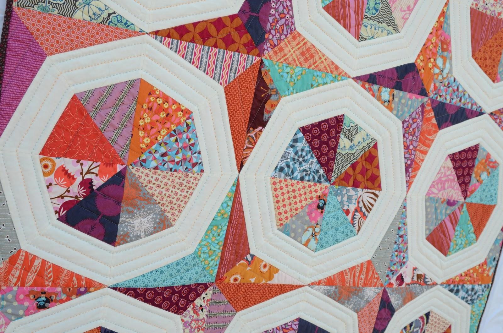 Hyacinth Quilt Designs November