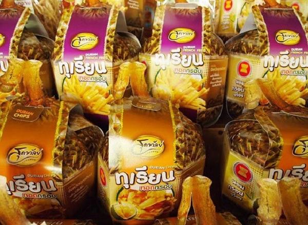 Bánh chíp sầu riêng Thái Lan