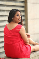 Shravya Reddy in Short Tight Red Dress Spicy Pics ~  Exclusive Pics 081.JPG