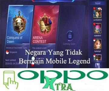 Negara Yang Tidak Bermain Mobile Legend