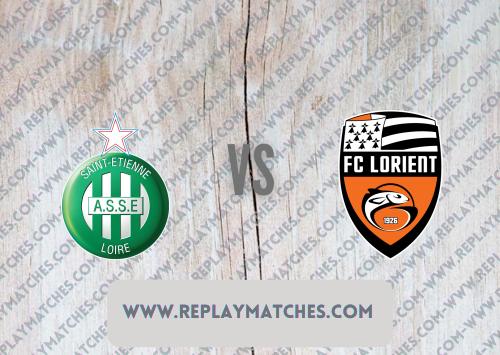 Saint-Etienne vs Lorient -Highlights 08 August 2021