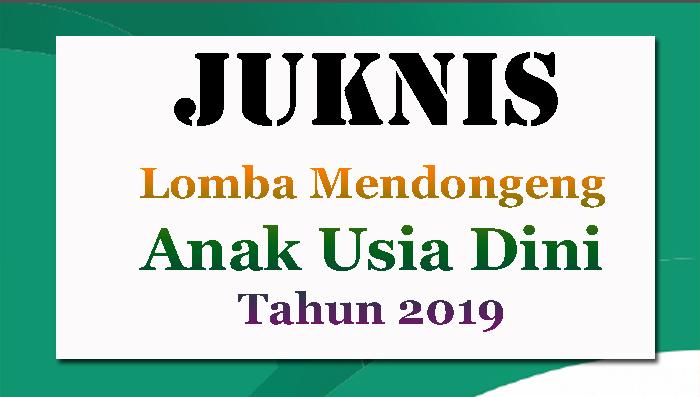 Juknis Lomba Dongeng PAUD