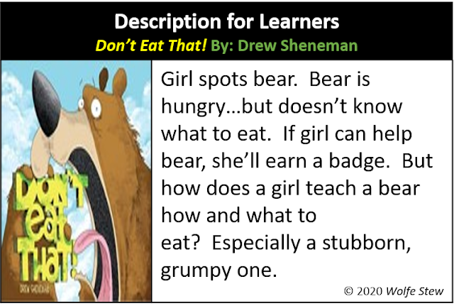"A ""Don't Eat That!"" summary tailored for learners."