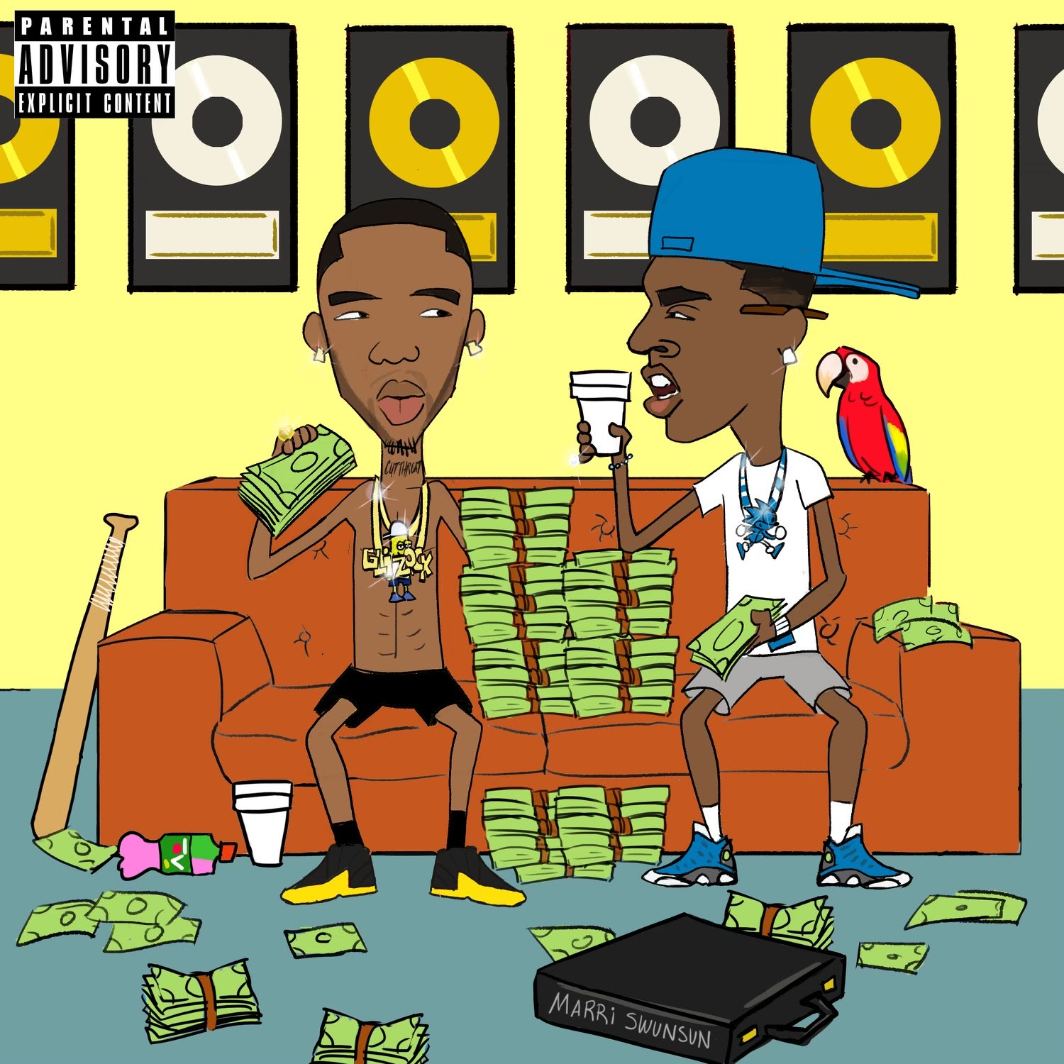 Young Dolph & Key Glock Release Dum & Dummer 2 via Paper Route EMPIRE