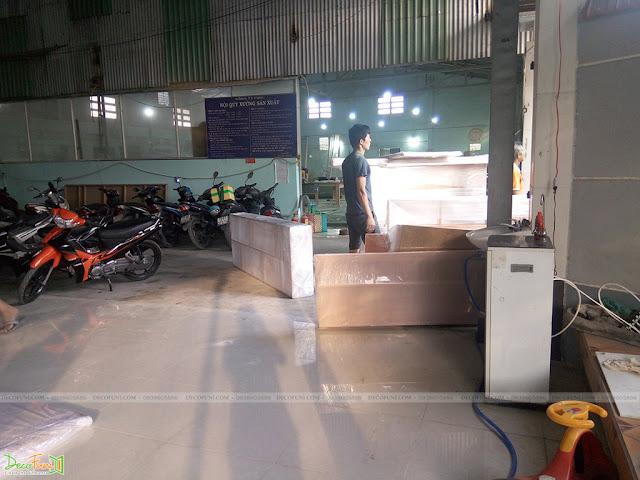 Một số hình ảnh về xưởng sản xuất và thi công nội thất