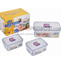 Lock & Lock Food Container Set 3P HPL817R03
