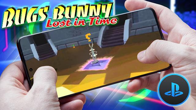 Bugs Bunny: Perdido en el Tiempo Para Teléfonos Android (ROM PS1)