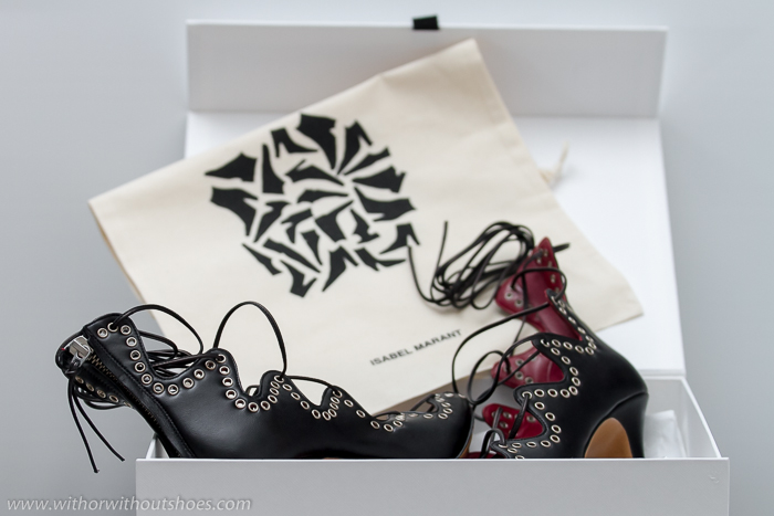 New In Lelie Lace Up Sandals By Isabel Marant With Or