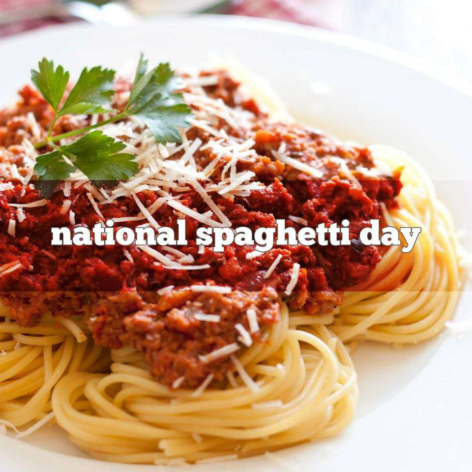 National Spaghetti Day Wishes for Whatsapp