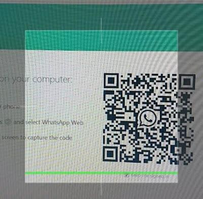 Kode QR WA WEB di PC