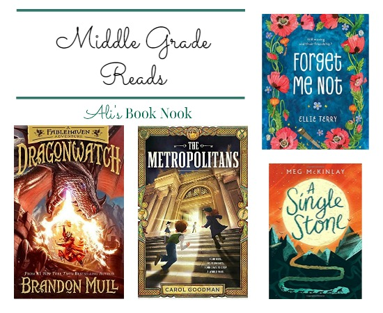 Middle Grade Books Our in Mid March (2nd - 6th grade)
