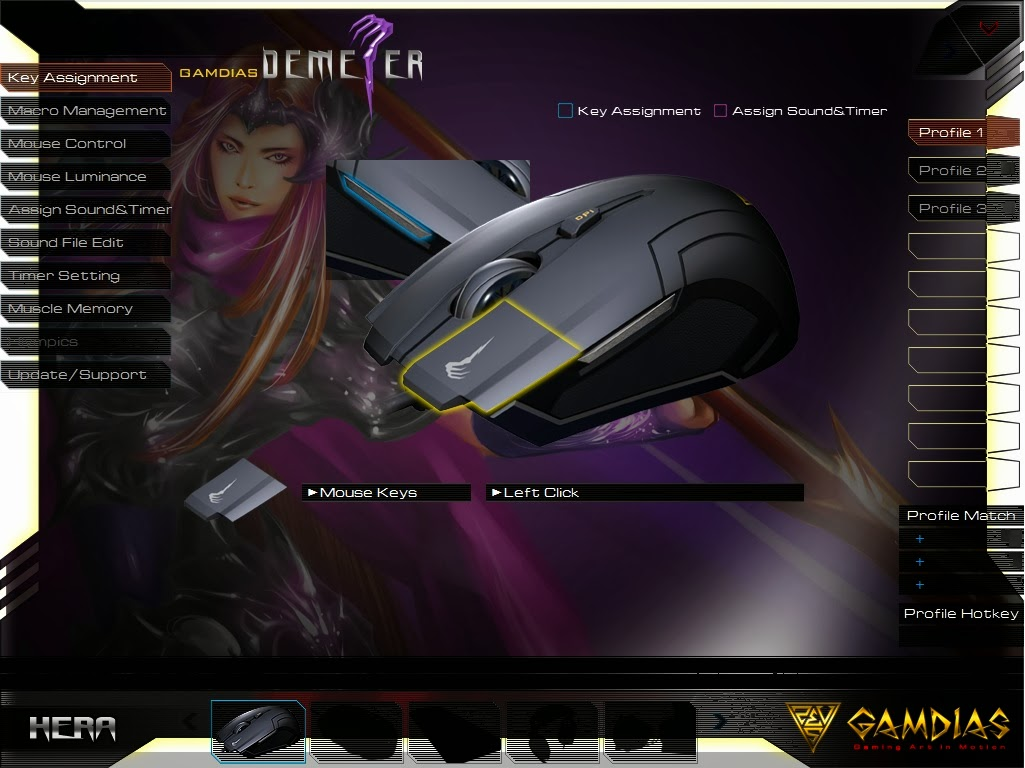 Gamdias Demeter Optical Gaming Mouse