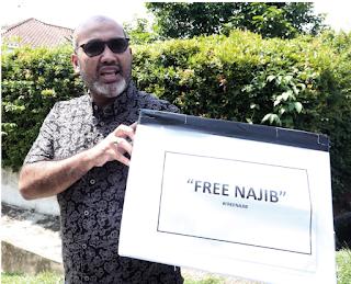 Kempen 'Free Najib' dapat RM80,000 dalam 24 jam