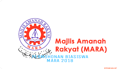 Permohonan Biasiswa MARA 2018/2019 Online