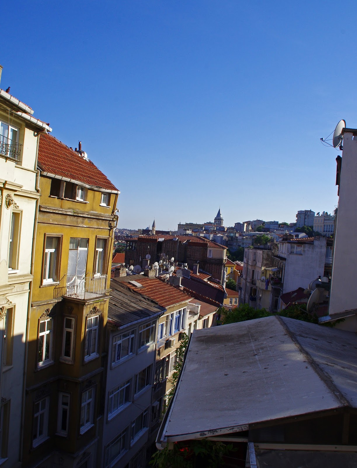 View from House Hotel Galatasaray