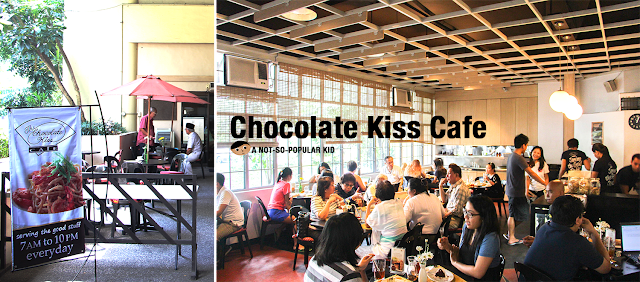 The Chocolate Kiss Cafe in Bahay ng Alumni in UP Campus