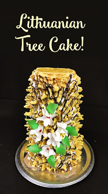Lithuanian tree cake