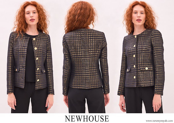 Queen Silvia wore Newhouse Halifax Jacket