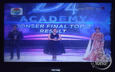 Konser Final Top 3 Result D'Academy 4 Indosiar