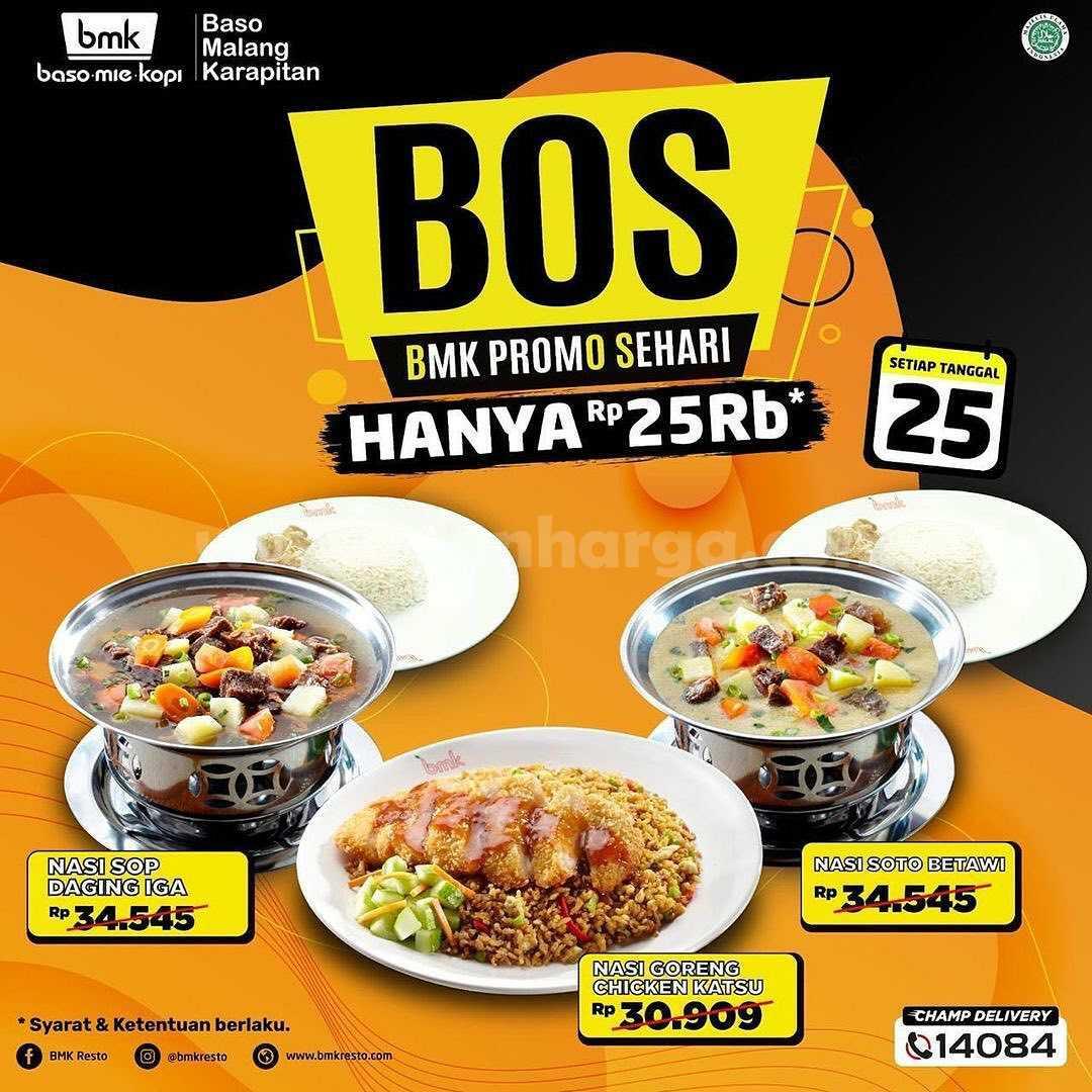 Promo BMK Baso Mie Kopi - Beli Paket BOS Hanya Rp 25.000