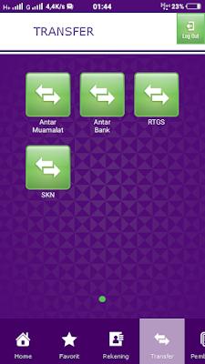 Transfer Antar Bank Dengan Mobile Banking Muamalat