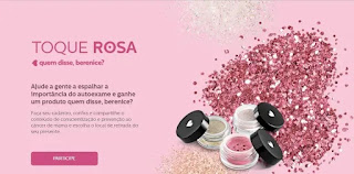 Cadastrar Promoção Toque Rosa Quem Disse Berenice Ganhe Glitter Grátis Outubro 2019