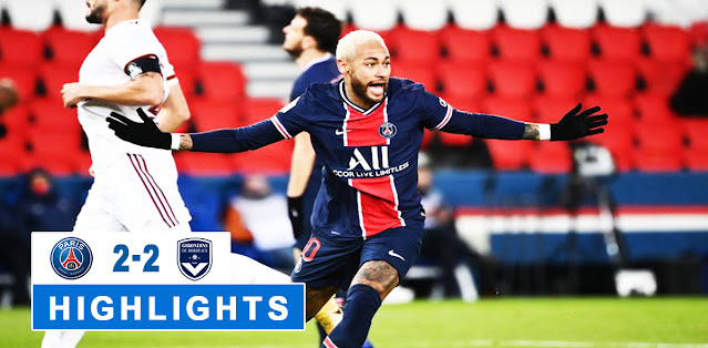 Paris Saint Germain vs Bordeaux – Highlights
