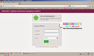Free Download PHP Source Code Aplikasi Management Surat (CI + Bootstrap)
