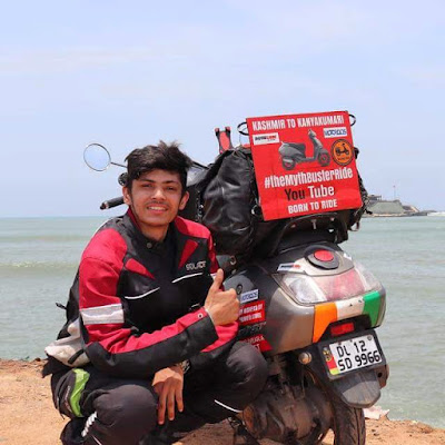Top 15+ Indian Moto Vloggers  Lakhshay Ananad Born to Ride