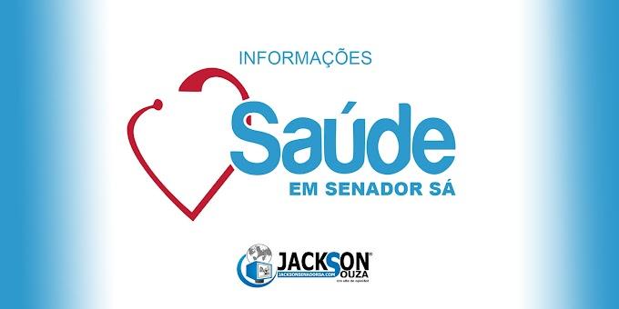 Secretaria comenta sobre a atual situação da saúde de Senador Sá, medidas implantadas até o momento.