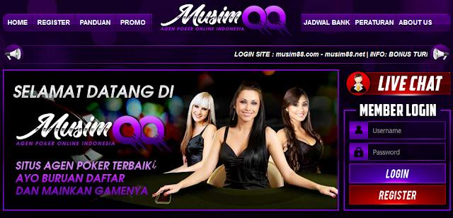 Musimqq: Website Poker Indonesia Terbaik dan Terpercaya