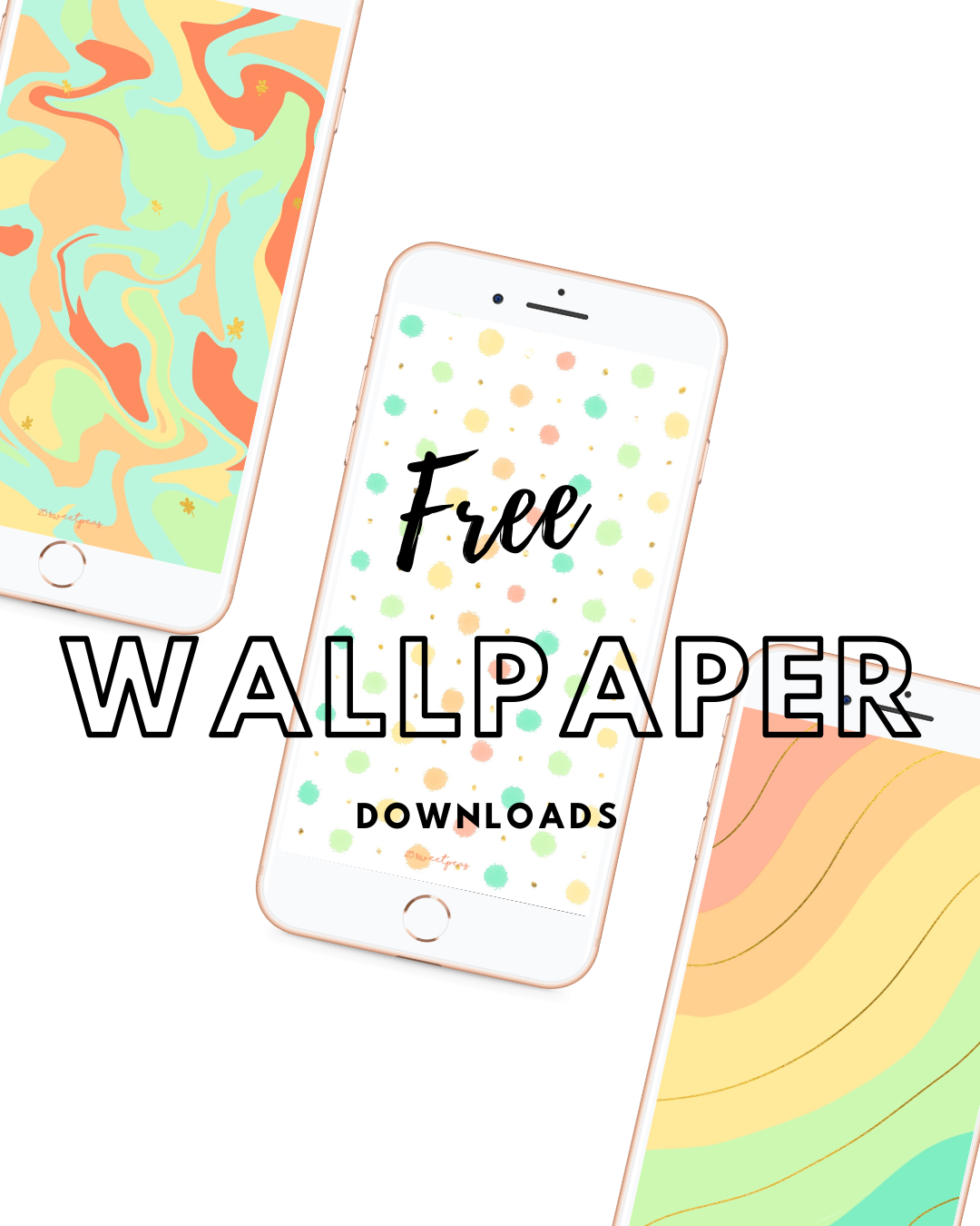25 Sweetpeas Free Wallpapers