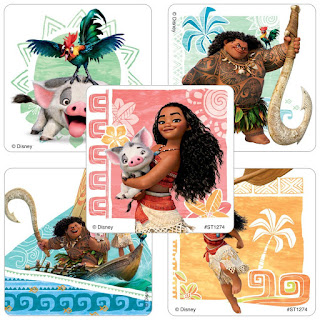 Moana gift bag ideas