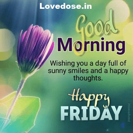 happy good morning friday