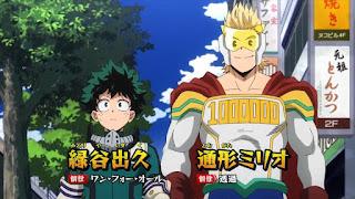 ヒロアカ アニメ | 緑谷出久と通形ミリオのインターン先 | サー・ナイトアイ Sir Nighteye | My Hero Academia | Hello Anime !