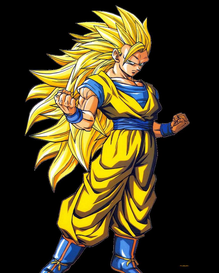 gambar Son Goku super saiya 3