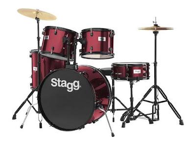 Bộ Trống Jazz Stagg TIM122BWR