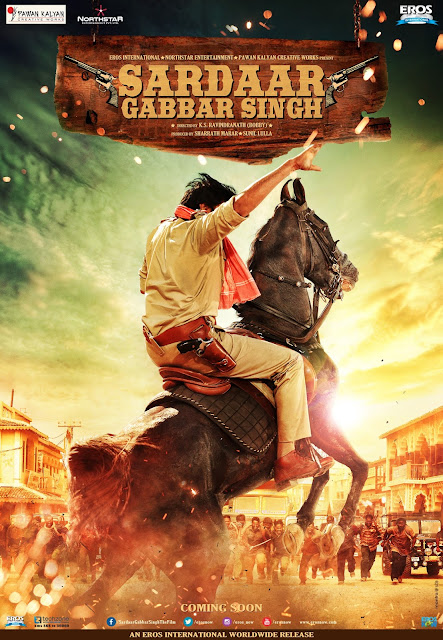 Sardaar Gabbar Singh, Pawan Kalyan, Eros International